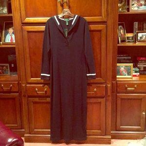 Ralph Lauren sailor maxi dress